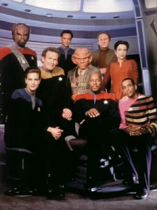 Deep Space Nine, Season 4 crew photo