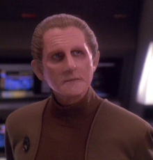 "Odo, Season 3, Ep 26, ""The Adversary"""