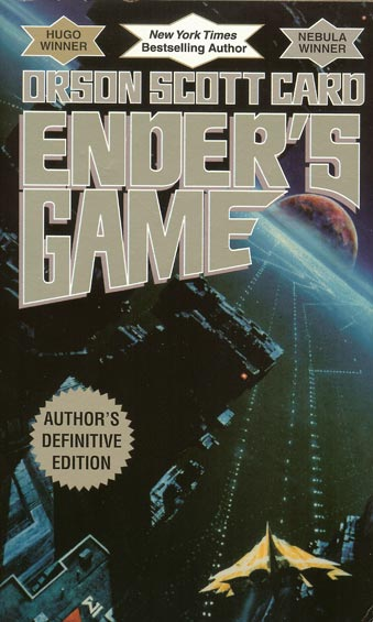 "Cover, Ender's Game, ""Author's Definitive Edition"""