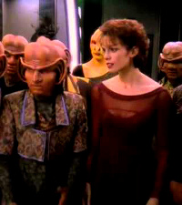 "Deep Space Nine, Season 4, Episode 16, ""Bar Association"""