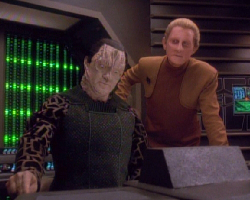 Odo and Garak don't know what they're in for.