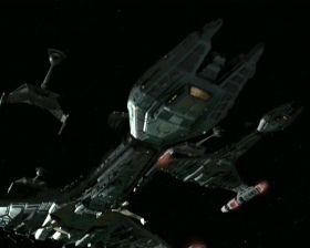 "Klingons, Klingons, Klingons. Season 3, Ep 1&2, ""The Way of the Warrior"""