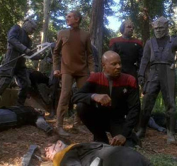 "DS9, Season 4, Ep. 23, ""To The Death"""