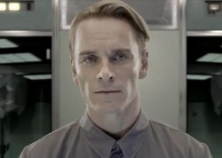 Michael Fassbender as David the android